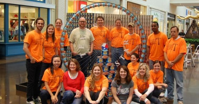 Canstruction at North Park Mall