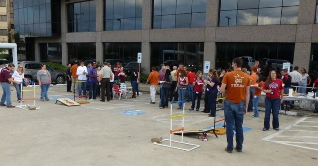Red River Rivalry Tailgate Party
