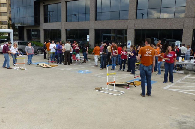 2013 Red River Rivalry Tailgating
