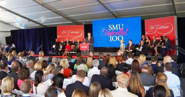 SMU Dedicates New Residential Commons Complex