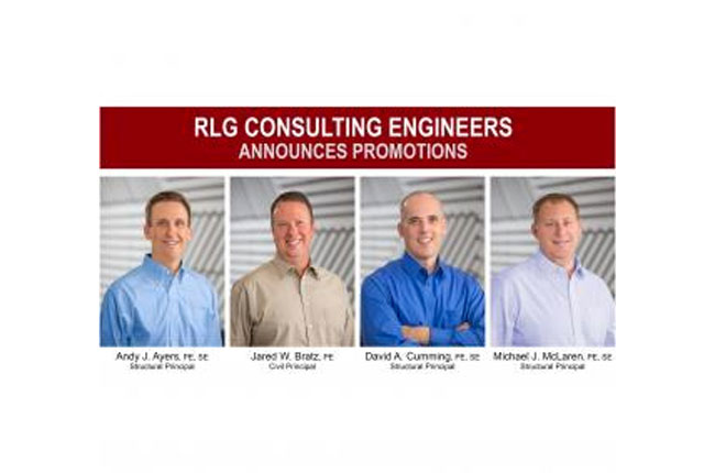 RLG Consulting Engineers Announces Promotions