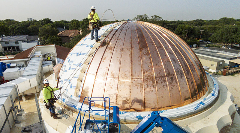 RLG St. Mark's Dome Under Construction