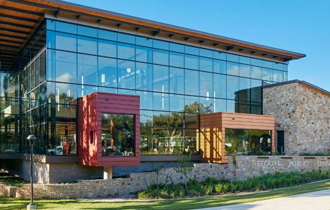 RLG Seguin Public Library Structural Engineering