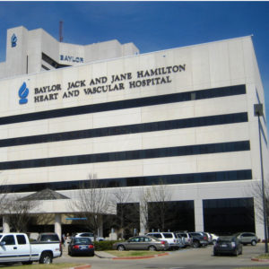 RLG Baylor University Medical Center - Heart and Vascular Hospital