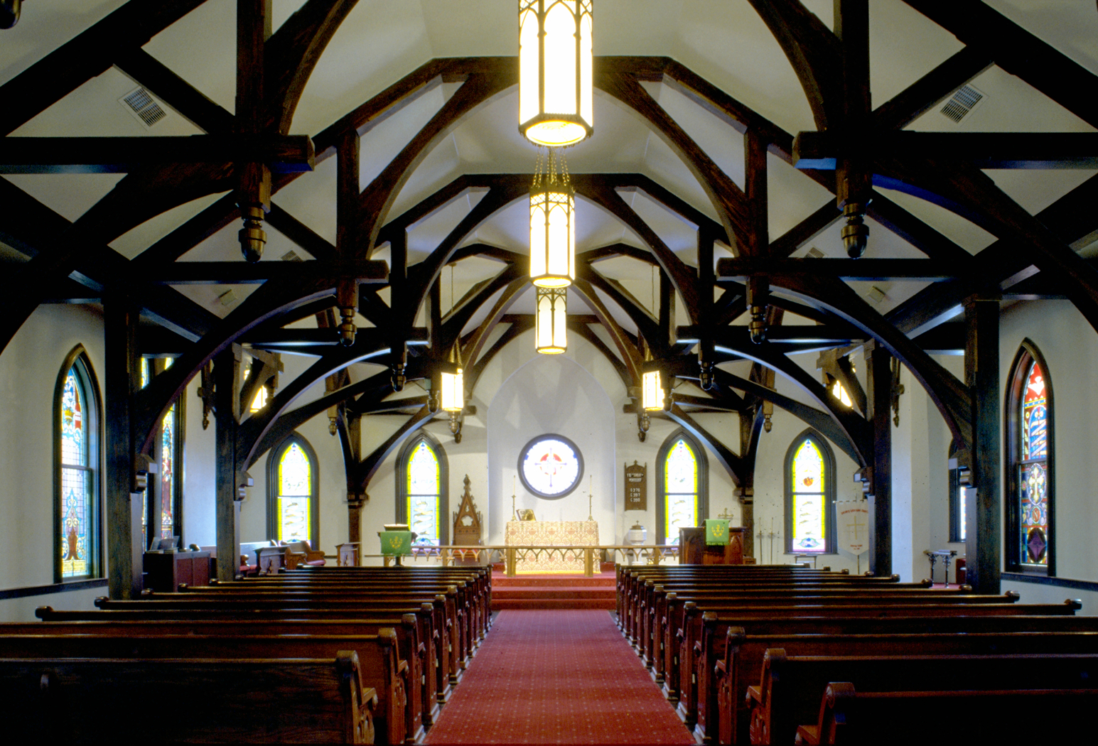 RLG's Calvary Episcopal Church Project the Interior View