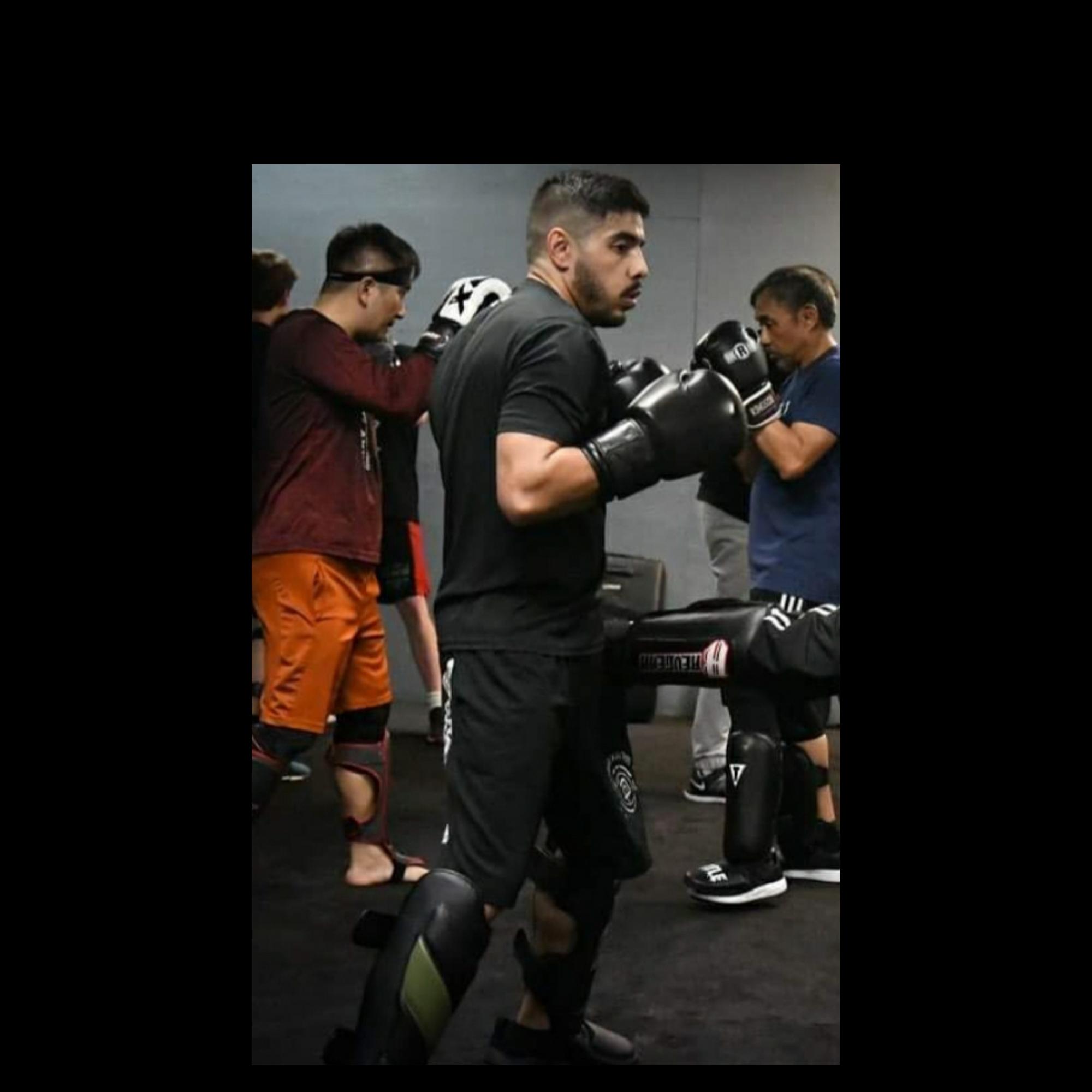 Jonathan (Jonny) Gonzales in MMA Class