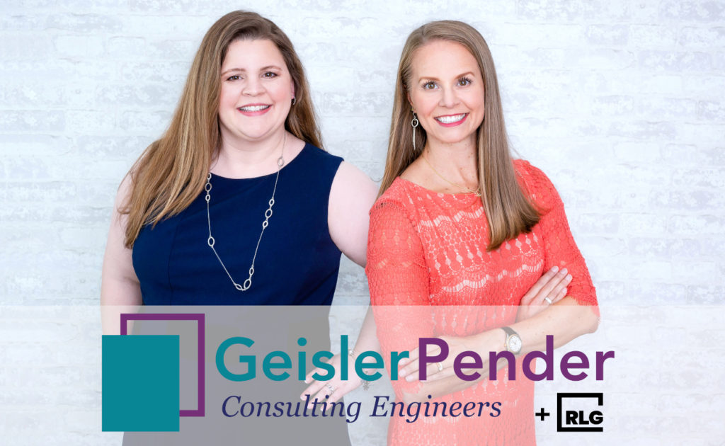 RLG is excited to announce the partnership of:  Geisler Pender Consulting Engineers + RLG